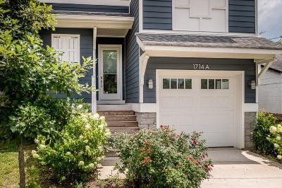 Nashville Single Family Home For Sale: 1714A Delta Ave