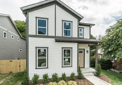 East Nashville Single Family Home Active Under Contract: 903A Beechmont Pl