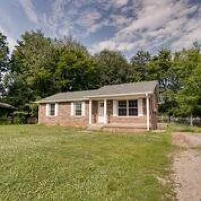 Clarksville Single Family Home Active Under Contract: 3414 Pembroke Rd