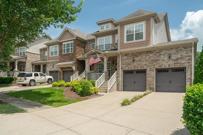 Nolensville Condo/Townhouse Active Under Contract: 7509 Kemberton Ct