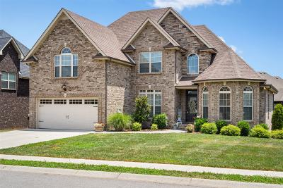 Clarksville Single Family Home For Sale: 2509 Remington Trace