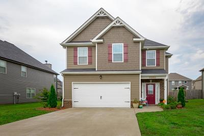 Clarksville Single Family Home For Sale: 116 Flat Rock Rd