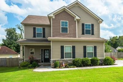 Williamson County Single Family Home Active Under Contract: 7513 Nathaniel Woods Blvd