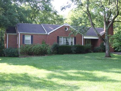 Goodlettsville Single Family Home Active Under Contract: 214 Moss Trl