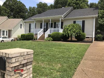 Goodlettsville Single Family Home Active Under Contract: 4091 Turners Bend