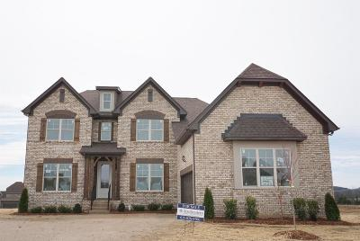 Gallatin Single Family Home For Sale: 1324 Barnsdale Pl Lot 25