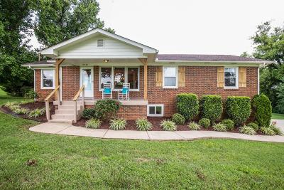 Mount Juliet Single Family Home Active Under Contract: 9950 Central Pike