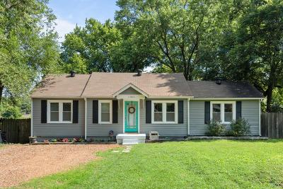 East Nashville Single Family Home Active Under Contract: 1301 Chester Ave