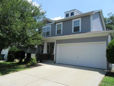 Mount Juliet Single Family Home Active Under Contract: 3157 Aidan Ln