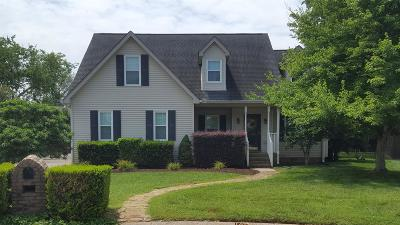 Single Family Home For Sale: 306 Hamblen Ct