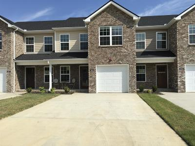Ashland City Condo/Townhouse For Sale: 2039 Downstream Drive