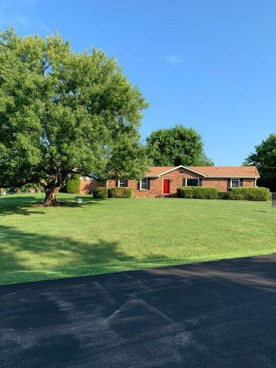 Clarksville Single Family Home Active Under Contract: 820 Bedford Dr