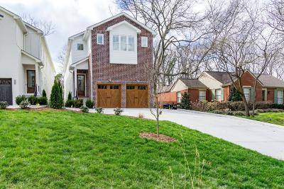 Nashville Single Family Home For Sale: 3633 General Bate Dr
