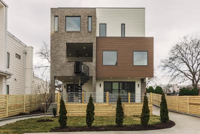 Nashville Single Family Home For Sale: 1201A Sigler St