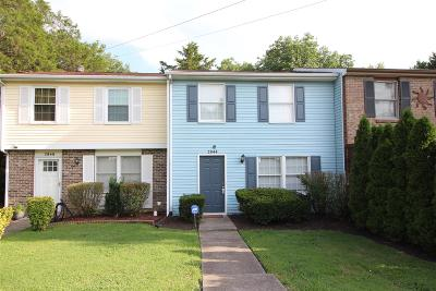 Nashville Condo/Townhouse Active Under Contract: 2844 Lake Forest Dr