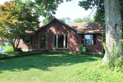 Clarksville Single Family Home For Sale: 1724 Valley Rd