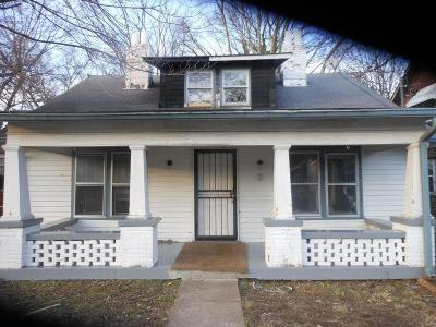 Nashville Single Family Home For Sale: 2414 Meharry Blvd