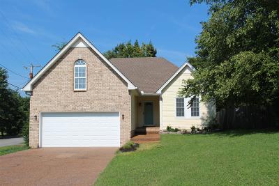 Goodlettsville Single Family Home For Sale: 399 Dorr Dr