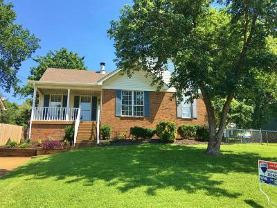 Hermitage Single Family Home Active Under Contract: 1412 Market Sq
