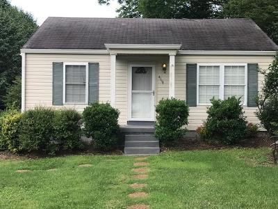 Nashville Single Family Home Active Under Contract: 4114 Idaho Ave