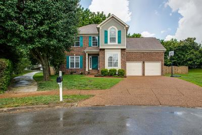 Franklin TN Single Family Home Active Under Contract: $409,000