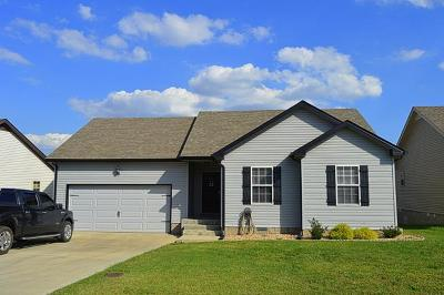 Clarksville Single Family Home For Sale: 1375 Whitt Ln