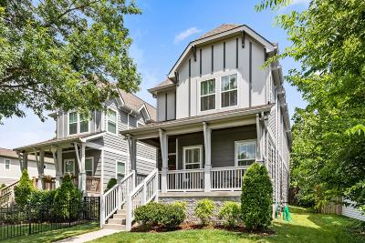 Nashville Single Family Home Active Under Contract: 4506A Illinois Ave