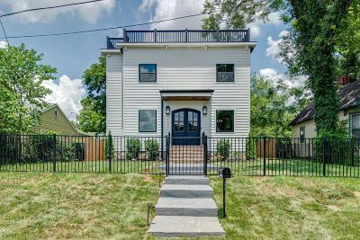 East Nashville Single Family Home For Sale: 1903 Electric Ave