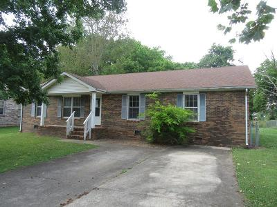 Clarksville Single Family Home Active Under Contract: 181 Pine Mountain Rd