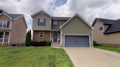 Clarksville Single Family Home Active Under Contract: 663 Fox Hound Dr