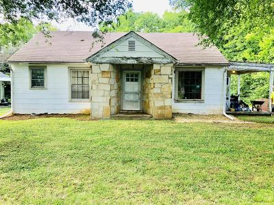 Clarksville Single Family Home Active Under Contract: 1107 Daniel St