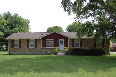Sumner County Single Family Home Active Under Contract: 100 Scotch Ct
