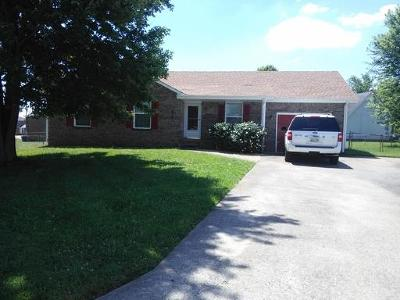 Clarksville Rental For Rent: 104 Cornelia Ct