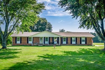 Cookeville Single Family Home Active Under Contract: 7561 Hilham Rd