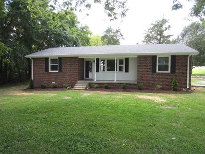 Watertown TN Single Family Home Active Under Contract: $209,900
