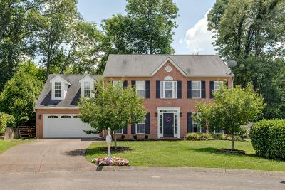Spring Hill  Single Family Home Active Under Contract: 1719 Carlyon Ct