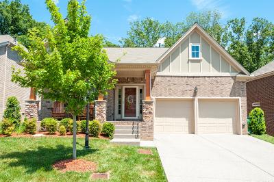 Mount Juliet Single Family Home For Sale: 2837 Lakeside Meadows Cir