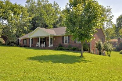 Clarksville Single Family Home Active Under Contract: 1771 Auburn Dr