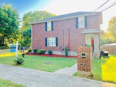 Nashville Single Family Home For Sale: 1531 11th Ave N