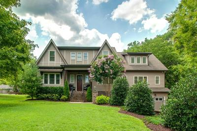 Nashville Single Family Home Active Under Contract: 4132 Outer Dr