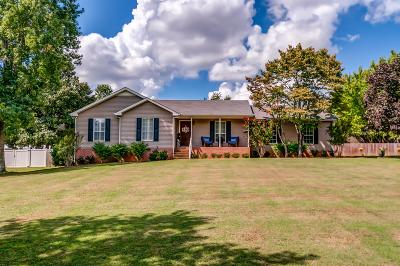 Thompsons Station Single Family Home Active Under Contract: 2825 Pedigo Pl