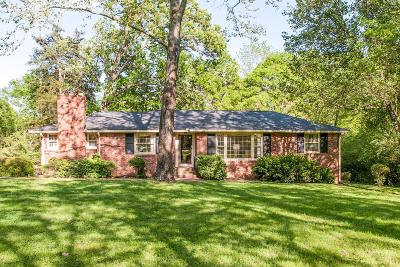 Nashville Single Family Home For Sale: 642 Brook Hollow Rd
