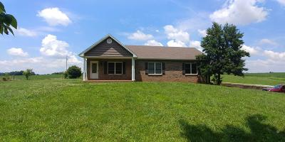 Robertson County Single Family Home Active Under Contract: 3580 Fizer Rd