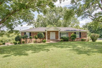 Old Hickory Single Family Home For Sale: 362 Green Harbor Rd