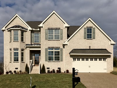 Nolensville Single Family Home For Sale: 312 Bayberry Court/Lot 529