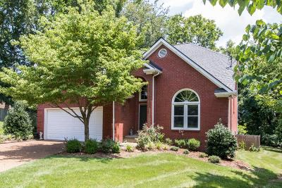 Nashville Single Family Home For Sale: 105 Tuliptree Ct