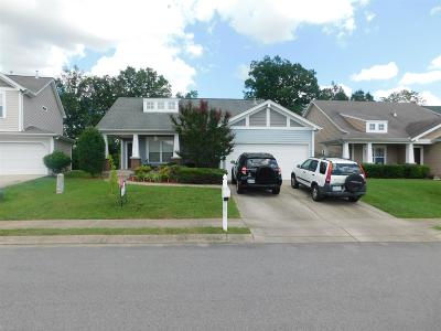 Mount Juliet Single Family Home Active Under Contract: 2119 Erin Ln