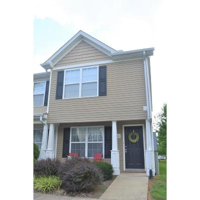 Murfreesboro Condo/Townhouse Active Under Contract: 1311 Vermont Ct