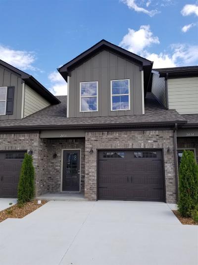 Murfreesboro Condo/Townhouse For Sale: 2416 Lightbend Dr - Lot 18 #18