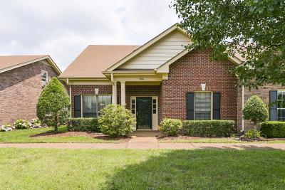Nashville Condo/Townhouse For Sale: 8561 Sawyer Brown Rd